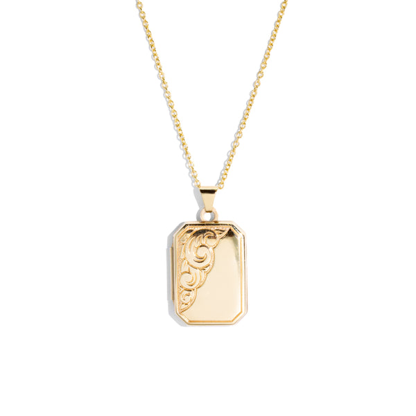 The Harper Vintage Locket Necklace