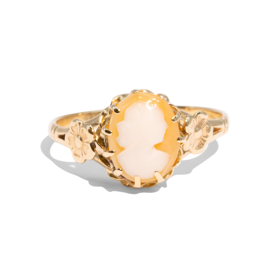 The Rupi Vintage Cameo Ring