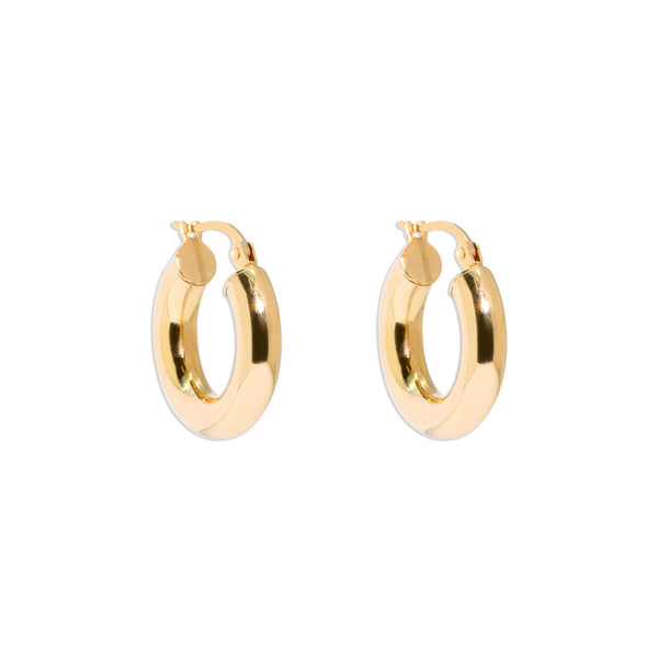 The Willa Vintage Hoop Earrings