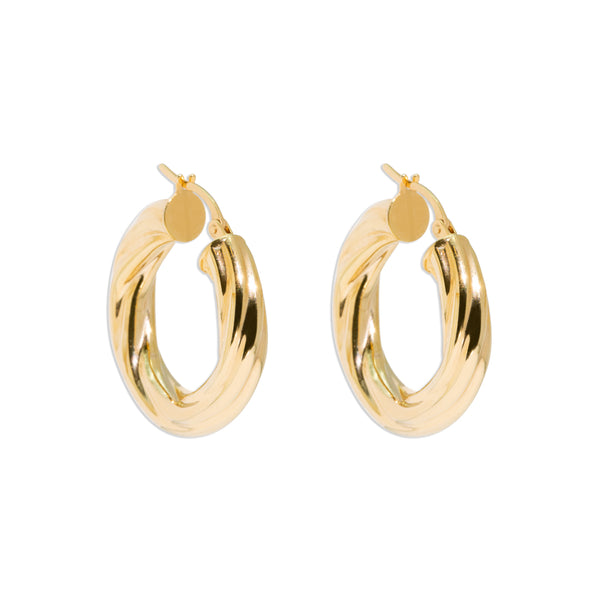 The Lydia Vintage Hoop Earrings