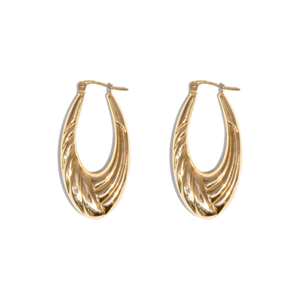 The Joy Vintage Hoop Earrings