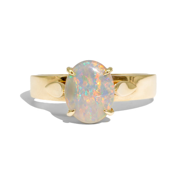 The Bette Vintage Opal Ring