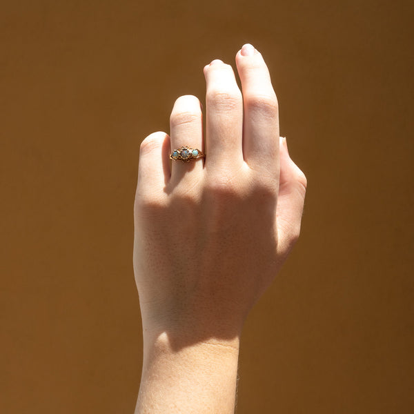 The Willa Vintage Opal Ring