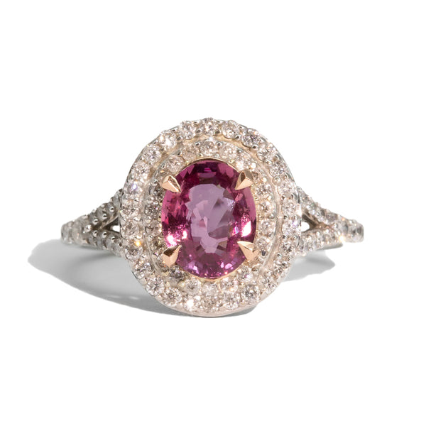 The Isabella Vintage Sapphire & Diamond Ring