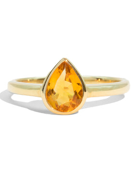 The Irene Vintage Citrine Ring