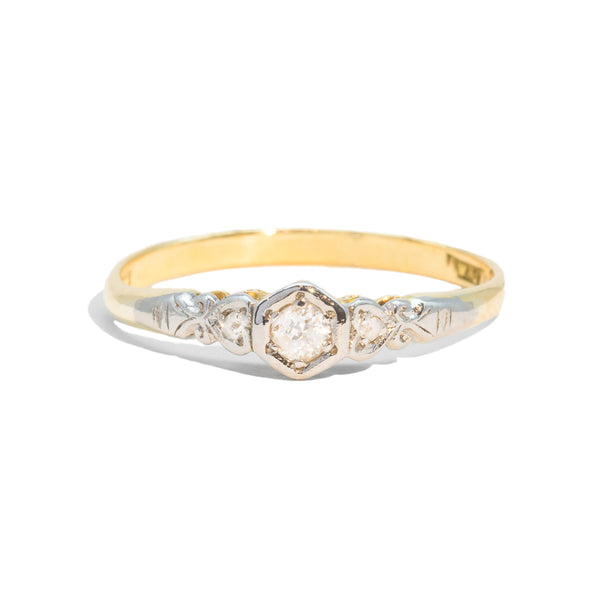 The Alice Vintage Diamond Ring