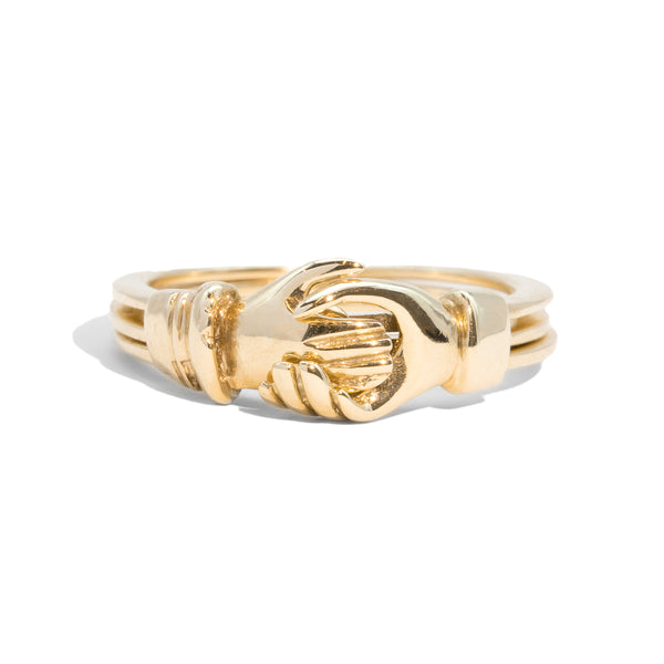 The Clodagh Vintage Fede Ring