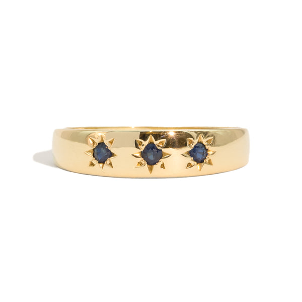 The Elle Vintage Sapphire Ring