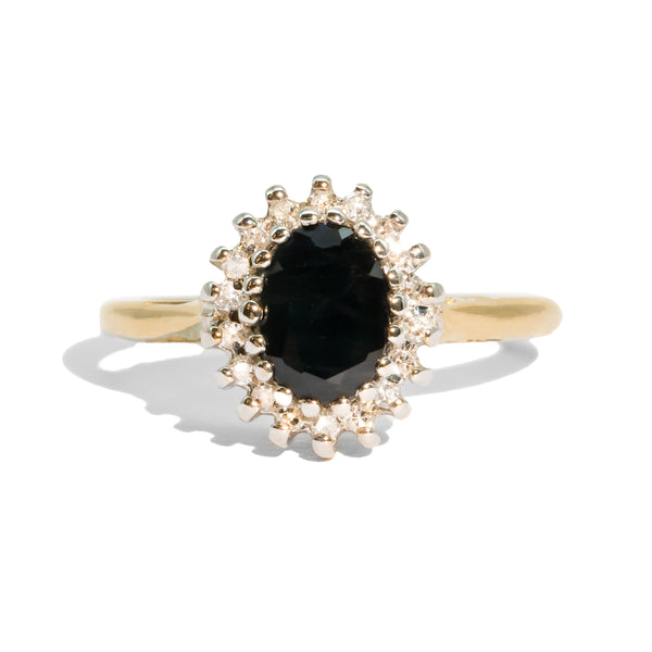 The Margaret Vintage Sapphire & Diamond Ring
