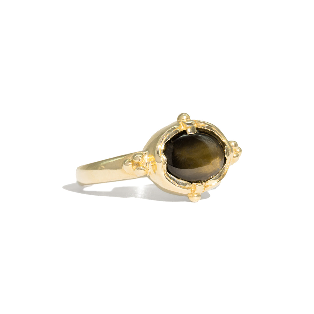 The Danielle Vintage Sapphire Ring