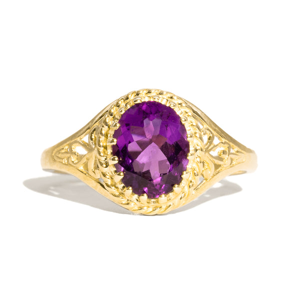 The Grace Vintage Amethyst Ring