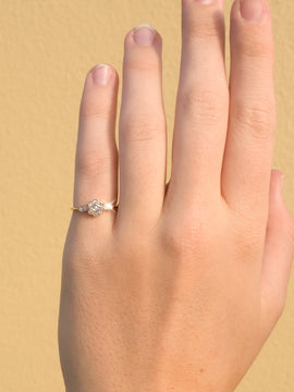 The Georgia Vintage Diamond Ring
