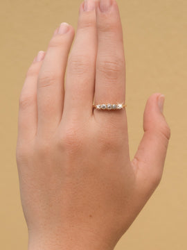 The Harmony Vintage Diamond Ring