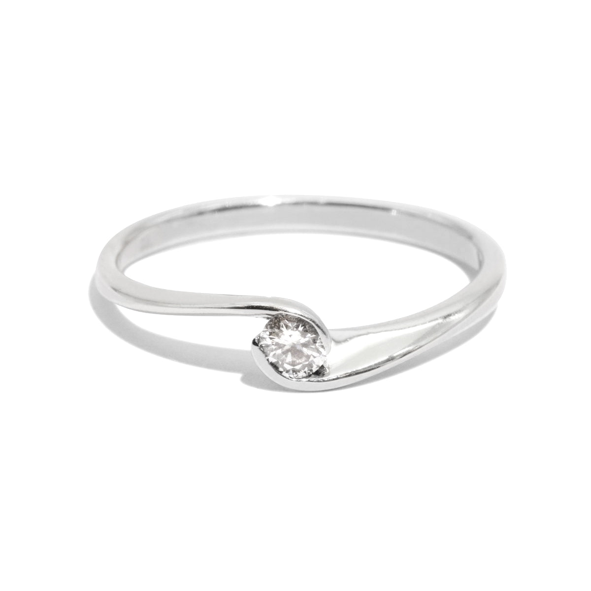 The Lyra Vintage Diamond Ring