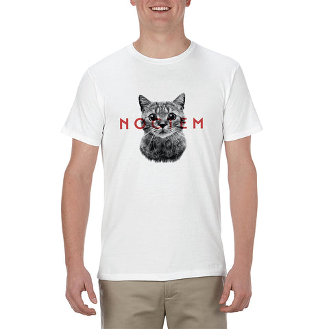 T-Shirt Chat Grisonnant