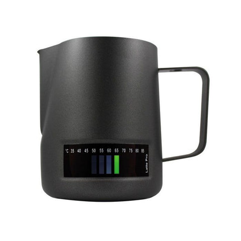 Latte Pro Milk Jug Matt Black - 480ml