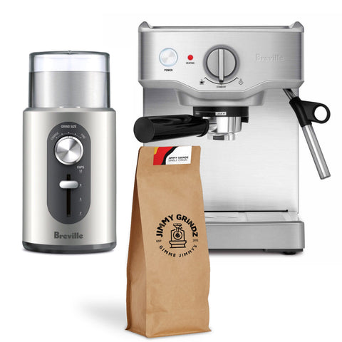 Breville Espresso Machine, Breville Grinder & Coffee - (Monthly Subscription)