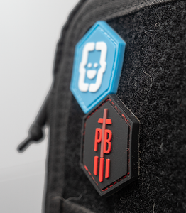 BYG Logo Hex Patch