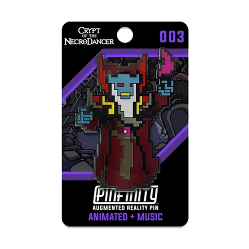 Crypt of the NecroDancer - Pinfinity AR NecroDancer Pin