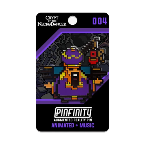 Crypt of the NecroDancer - Pinfinity AR Shopkeeper Pin
