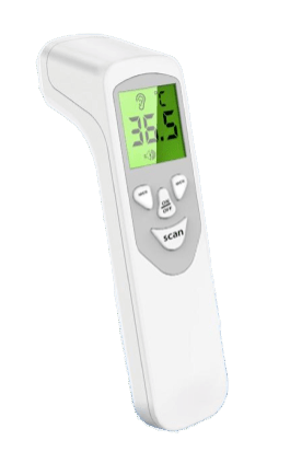 Infra-red Thermometer  No touch Baby adult forehead no contact.