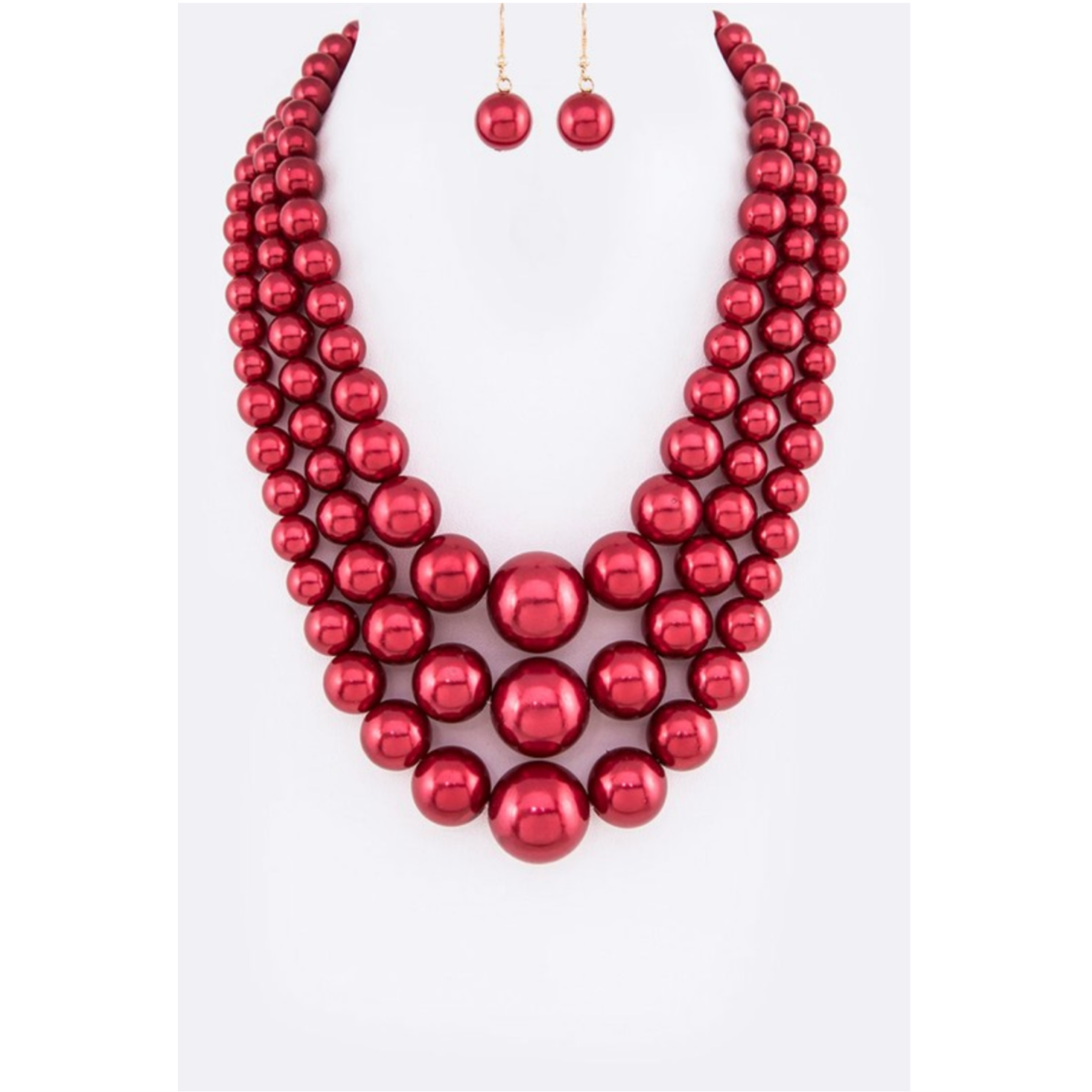 Red Pearl Set