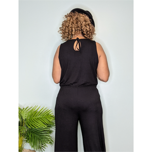Casual Jumpsuit (Black)
