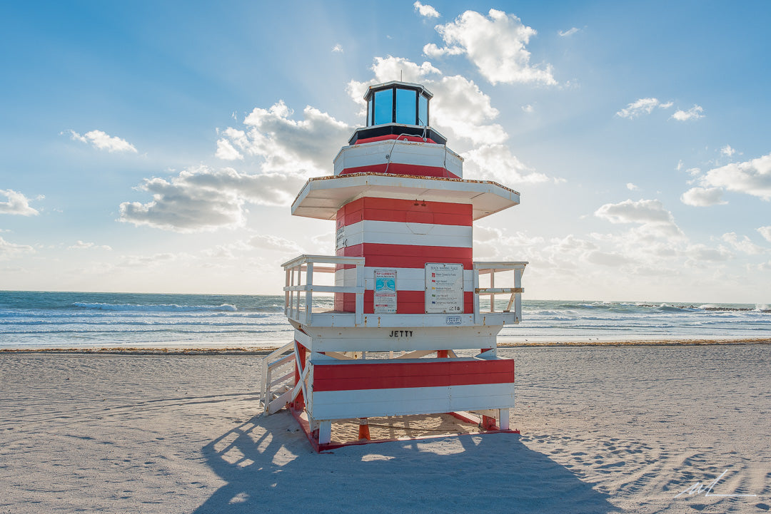 Miami Beach Lifeguard Tower