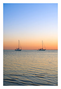 Sunset Sailboats - Sale