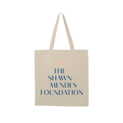 THE SHAWN MENDES FOUNDATION TOTE BAG