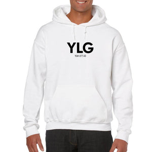 HOODIE WHITE - YLG