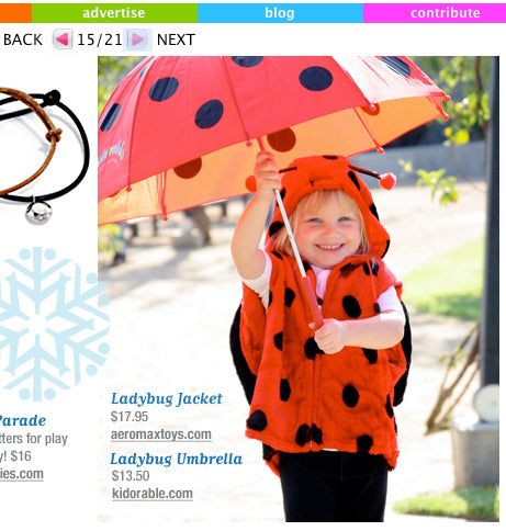 Kidorable Ladybug in Lunchbox Magazine