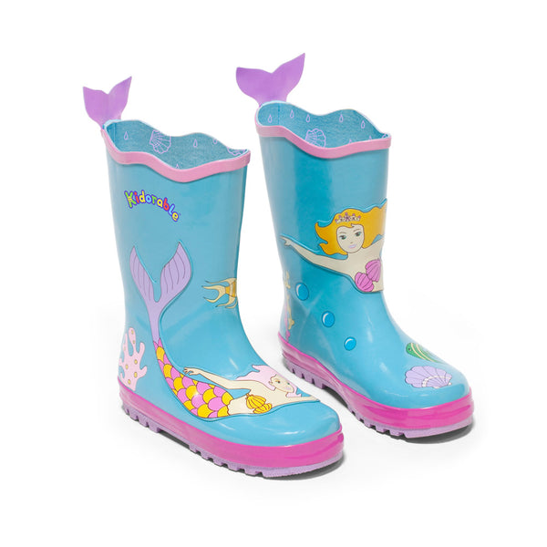 Mermaid Rain Boots