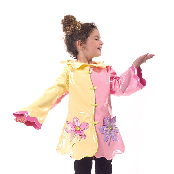 Lotus Flower Raincoat