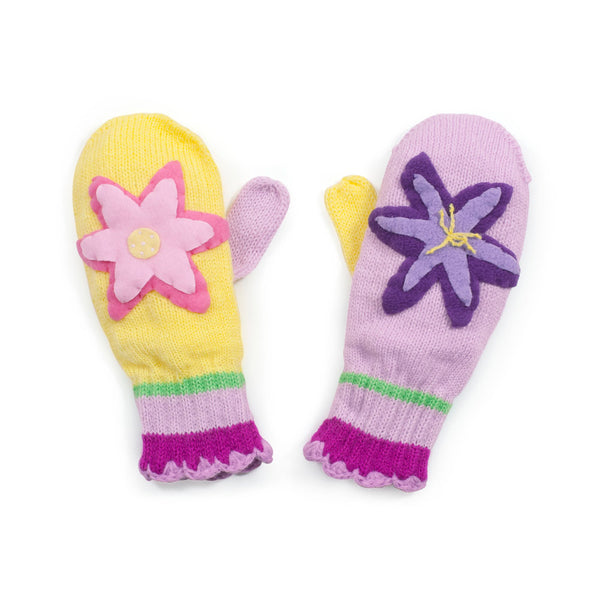 Lotus Flower Mittens