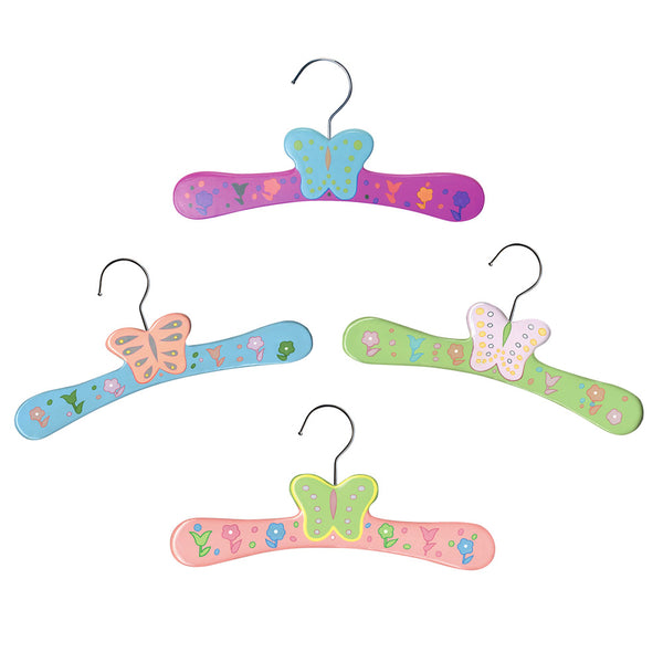 Butterflies Assorted Hanger Set