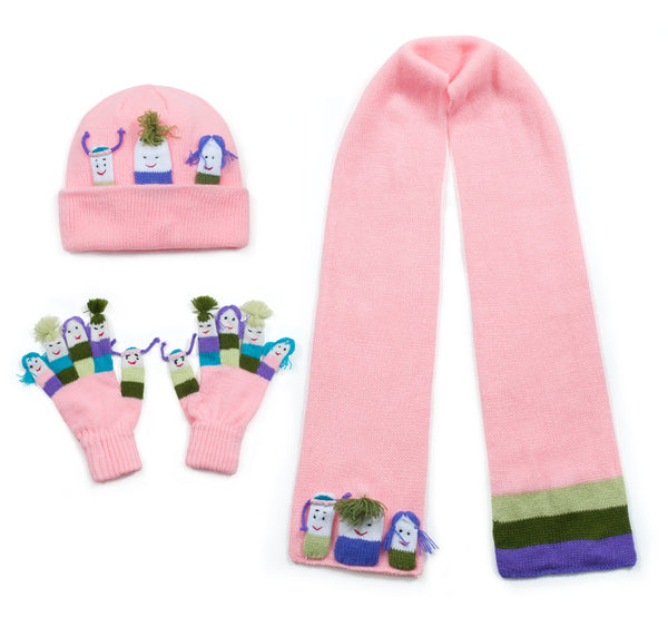 Girls Knitwear Set