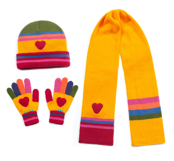 Hearts Knitwear Set