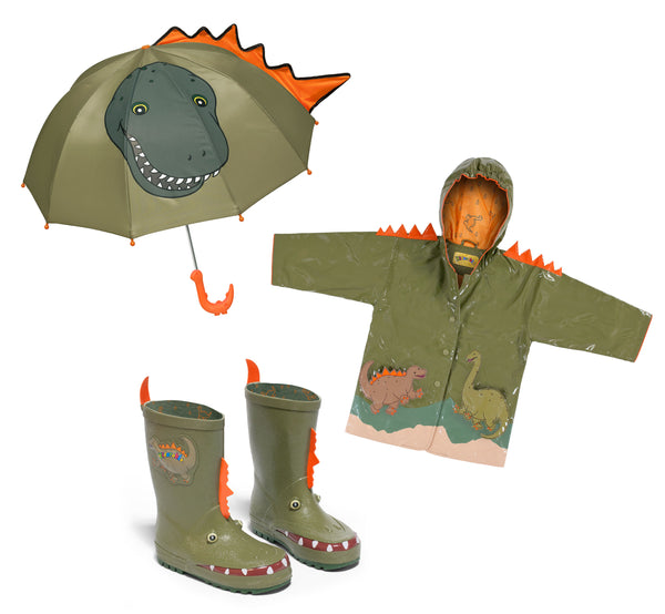 Dinosaur Rainwear Set