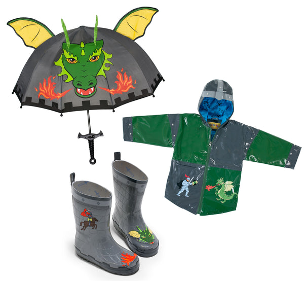 Dragon Knight Rainwear Set