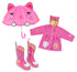 Lucky Cat Rainwear Set