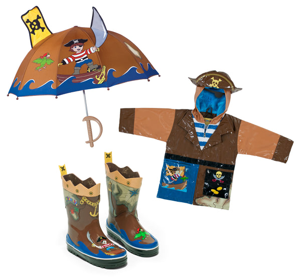 Pirate Rainwear Set