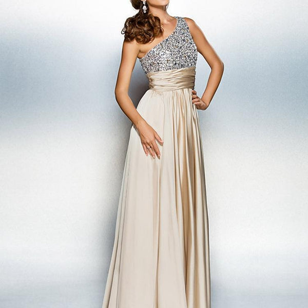 Off The Shoulder Sexy Evening Dress