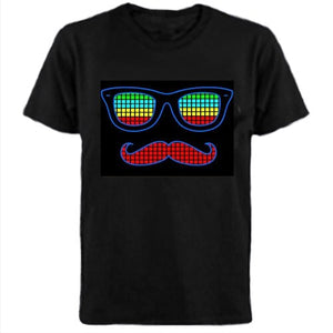 Fun Cool Sound-activated Led T-shirt