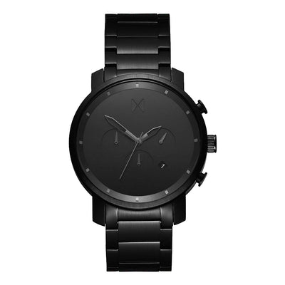 MVMT D-MC01BB Chrono 45 Black Link Heren horloge