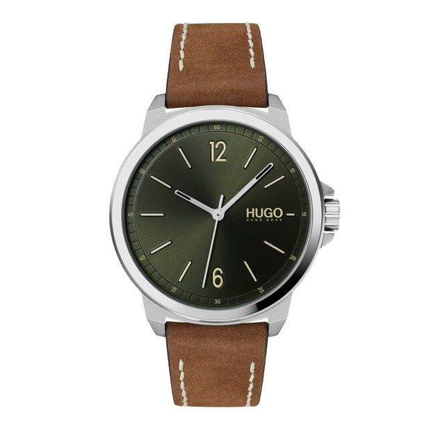 Hugo #LEAD HU1530063 Herenhorloge