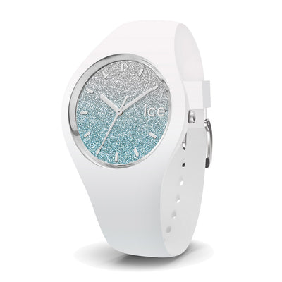 Ice-Watch IW013425 Ice Lo  White Blue Small Dames horloge