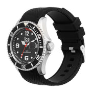 Ice-Watch IW016030 ICE steel - Black - Medium Heren horloge