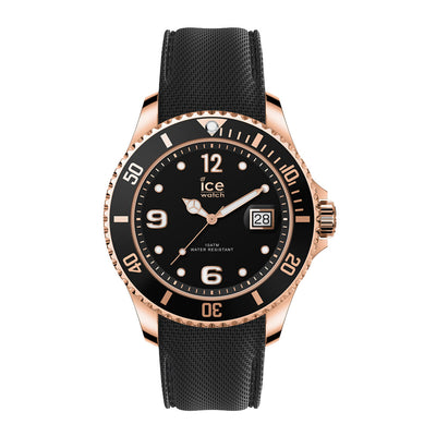 Ice-Watch IW016765 ICE steel - Black RGP - Medium Unisex horloge