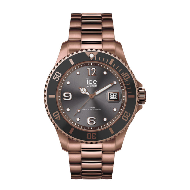 Ice-Watch IW016767 ICE steel - Bronze - L Unisex horloge